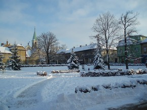 In front of the Castle - Winter