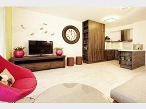 Obývací pokoj a kuchyně