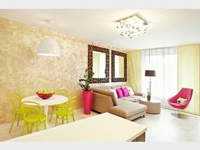 Obývací pokoj a jídelní kout