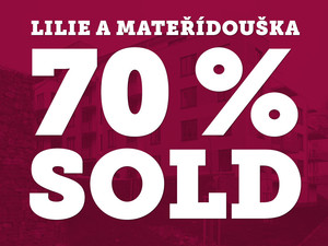 More than 70 % of flats sold from LM