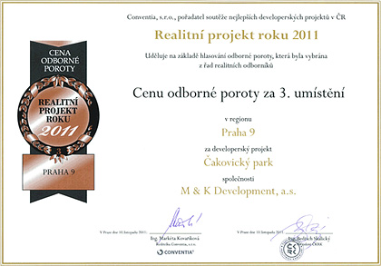 Real estate project of the year 2012 - Professional jury award